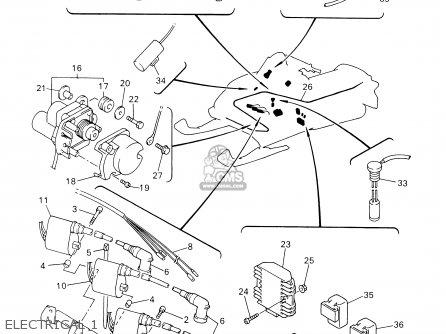 Yamaha SRX700D/SD 2000 parts lists and schematics
