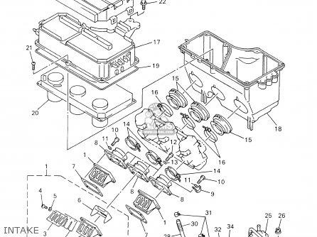 Yamaha Srx700d/sd 2000 parts list partsmanual partsfiche