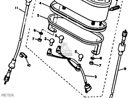 Yamaha SS440D 1980 parts lists and schematics