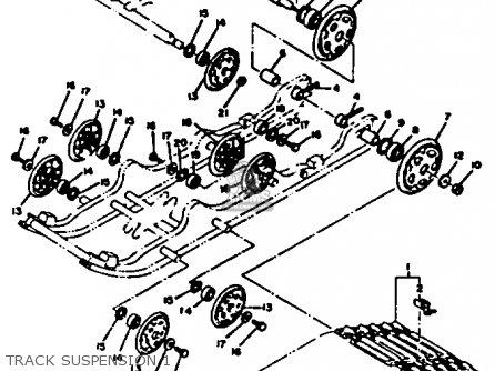 Yamaha Ss440d 1980 parts list partsmanual partsfiche