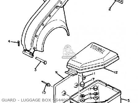 Yamaha SS440G 1982/1983 parts lists and schematics