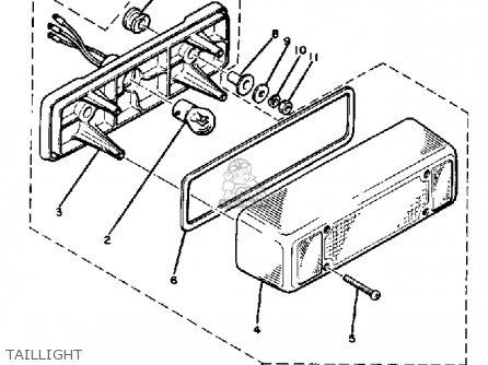 1985 Yamaha Enticer 340 Wiring Diagram 1985 Yamaha Excel V