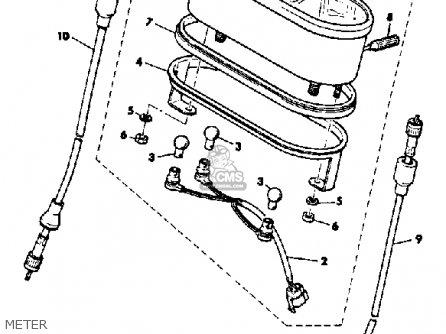 Yamaha Ss440h 1984 parts list partsmanual partsfiche