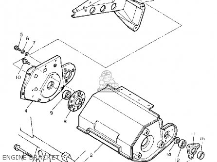Yamaha SV125P SNO-SPORT 1990 parts lists and schematics