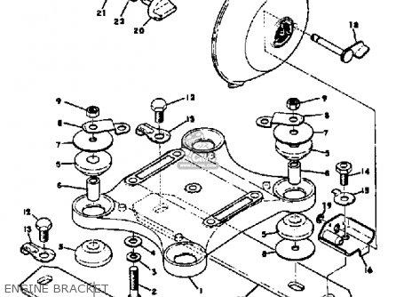 Yamaha Sw433b 1972 parts list partsmanual partsfiche