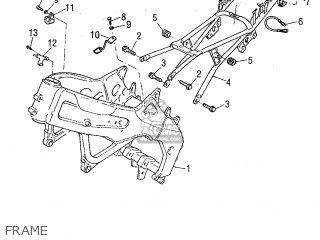 Yamaha SZR660 1995 4SU1 ITALY 264SU-300E1 parts lists and