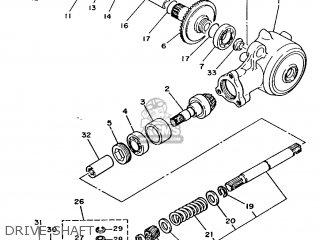 Yamaha T80 1986 2fl England 262fl-310e1 parts list