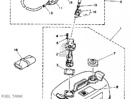 Yamaha T9.9(eh/er)p 1991 parts list partsmanual partsfiche
