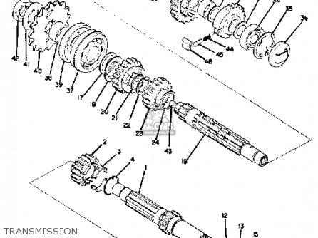 Yamaha TD2 1970 USA parts lists and schematics