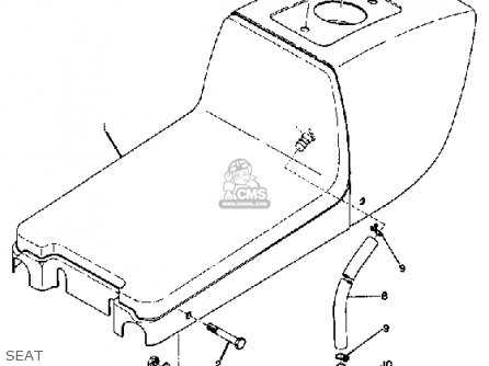 Yamaha Td2b 1971 Usa parts list partsmanual partsfiche