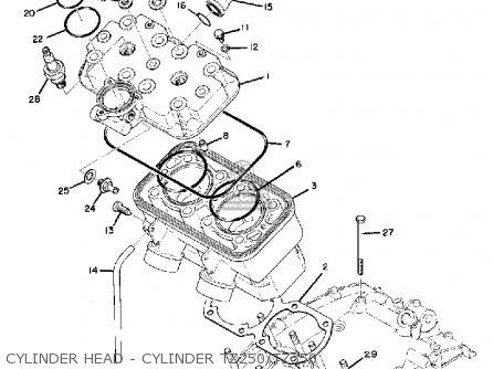 Parts & Accessories Yamaha 1972 TD3 1972 TR3 1973 TZ350