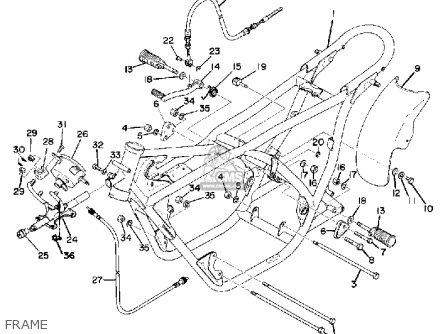 Yamaha Td3 1972 1973 1974 Usa parts list partsmanual