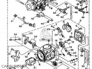Yamaha TDM850 1991 3VD1 EUROPE 213VD-300E1 parts lists and