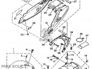 Yamaha TDM850 1991 3VD1 FRANCE 213VD-351F1 parts lists and