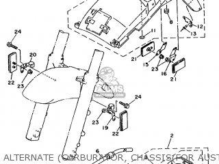 Yamaha TDM850 1991 4CF1 OCEANIA 213VD-300E1 parts lists