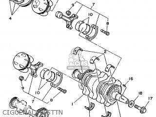 Yamaha Tdm850 1992 3vd3 Spain 223vd-352s2 parts list