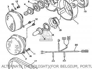 Yamaha TDM850 1992 3VD4 EUROPE 223VD-300E2 parts lists and