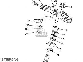 Yamaha TDM850 1992 4CM2 EUROPE 223VD-300E2 parts lists and