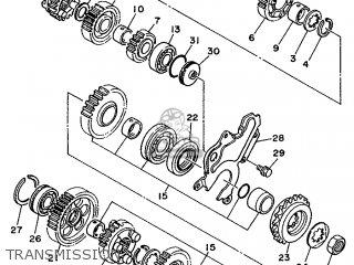Yamaha TDM850 1992 4CM2 SWEDEN 223VD-300E2 parts lists and