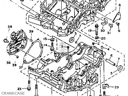 Yamaha TDM850 1992 (N) USA parts lists and schematics