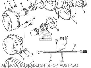 Yamaha TDM850 1993 3VD5 EUROPE 233VD-300E2 parts lists and