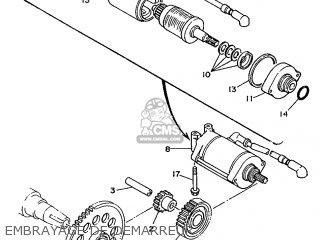 Yamaha TDM850 1993 3VD5 FRANCE 233VD-351F2 parts lists and