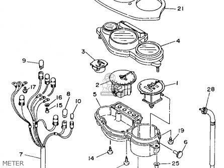 Yamaha TDM850 1993 (P) USA parts lists and schematics