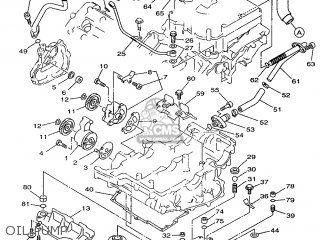 Yamaha Tdm850 1996 4tx1 Holland 264tx-300e1 parts list