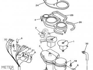 Yamaha TDM850 1997 4TX2 FRANCE 274TX-351F1 parts lists and