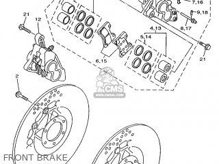 Yamaha TDM850 1997 4TX2 GERMANY 274TX-332G1 parts lists