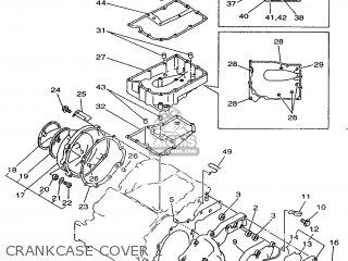 Yamaha TDM850 1998 4TX3 GERMANY 284TX-332G1 parts lists