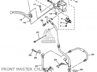 Yamaha TDM850 1998 4TX3 GREECE 284TX-300E1 parts lists and