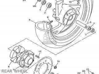 Yamaha Tdm850 1998 4tx3 Holland 284tx-300e1 parts list