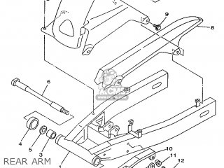 Yamaha TDM850 1999 4TX4 ENGLAND 294TX-300E1 parts lists
