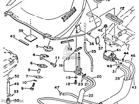 Yamaha TDM850C 1992 ( N) CALIFORNIA parts lists and schematics