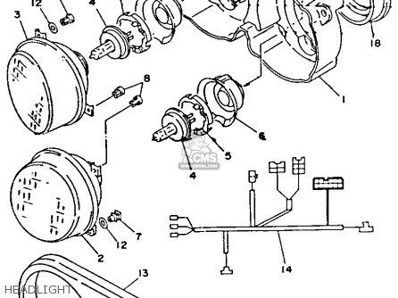 Yamaha Tdm850c 1992 ( N) California parts list partsmanual