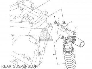 Yamaha TDM900 2004 5PS6 ENGLAND 1C5PS-300E1 parts lists