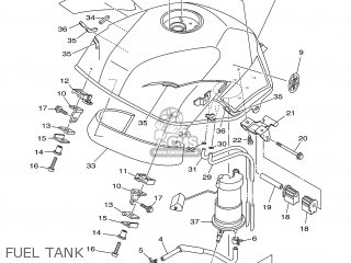 Yamaha TDM900 2005 5PS8 EUROPE 1D5PS-351F1 parts lists and