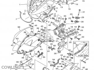 Yamaha Tdm900 2007 5psc Europe 1f5ps-332g1 parts list