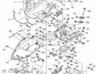 Yamaha Tdm900a 2010 2b08 Europe 1j2b0-300e1 parts list