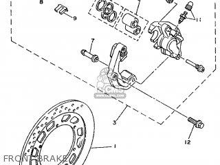 Yamaha Tdr125 1995 4fu3 France 254fu-351f1 parts list