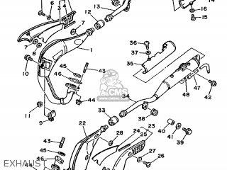 Yamaha TDR250 1988 3CK1 EUROPE 283CK-300E1 parts lists and