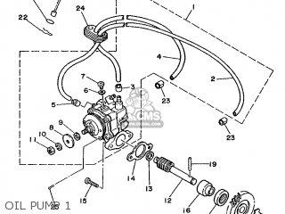 Yamaha Tdr250 1988 3ck1 Europe 283ck-300e1 parts list
