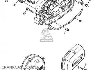 Yamaha TDR250 1988 3CK1 GERMANY 283CK-332G1 parts lists