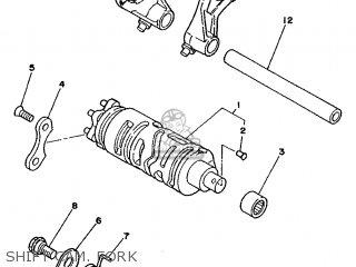 Yamaha TDR250 1990 3CK2 EUROPE 203CK-300E1 parts lists and
