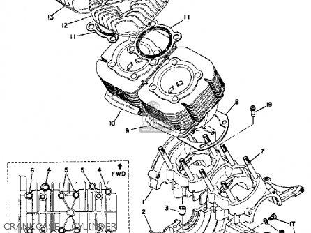 Yamaha TL433F 1974 parts lists and schematics