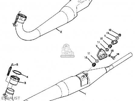 Yamaha Tr2 1969 1970 Usa parts list partsmanual partsfiche