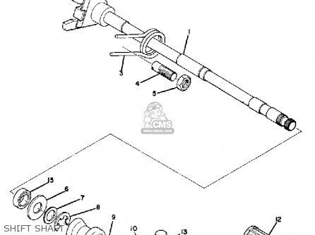 Yamaha Tr2b 1971 Usa parts list partsmanual partsfiche