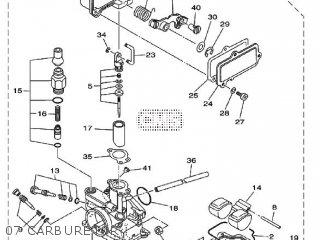 Yamaha TT-R110E 2009 5B67 EUROPE 1H5B6-100E1 parts lists