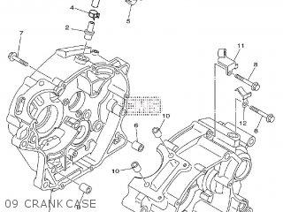Yamaha TT-R125LW 2009 19C9 EUROPE 1H19C-100EA parts lists